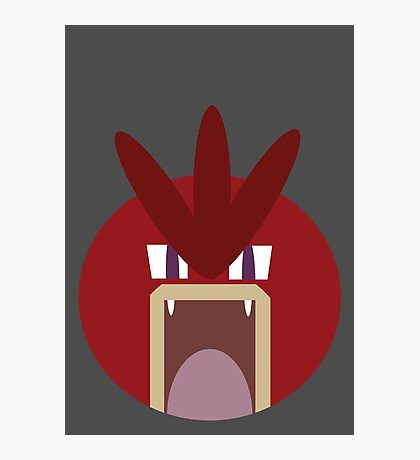 Red Gyarados Ball Photographic Print