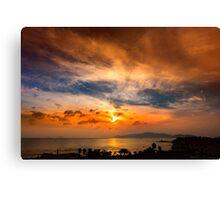 A Sunrise Glow Canvas Print