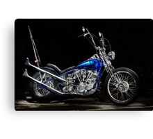 Harley-Davidson Panhead Chopper from The Wild Angels Canvas Print