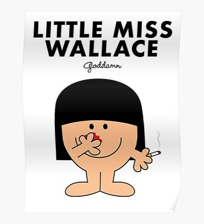 Little Miss Wallace Poster