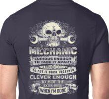 Mechanic Clever Enough Unisex T-Shirt