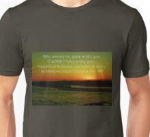 Who Among The Gods Unisex T-Shirt