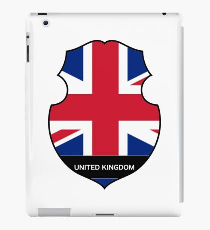 United Kingdom Symbol iPad Case/Skin