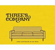 Three's Company Photographic Print
