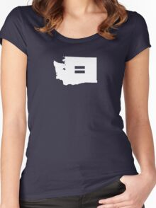 Washington Equality Women's Fitted Scoop T-Shirt