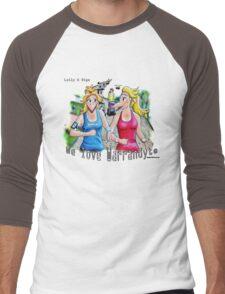 The River Track Men's Baseball ¾ T-Shirt