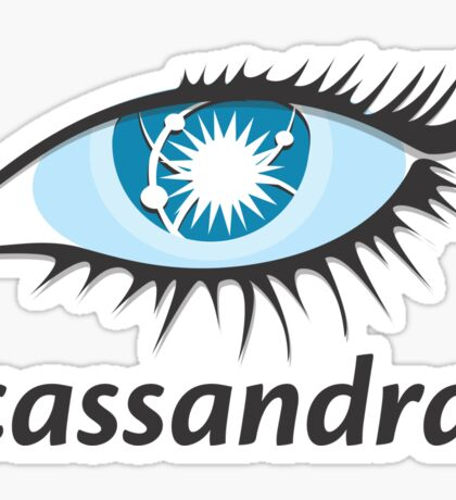 apache cassandra nosql database Sticker