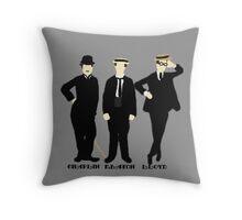 Silent Greats Throw Pillow