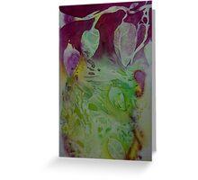 Creeping Plant Greeting Card