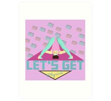 Let's Get Physical 80s T-Shirt Art Print