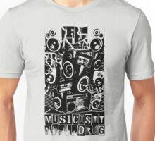 Music Is My Drug - ROOTSKING Unisex T-Shirt