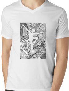 Dancer Mens V-Neck T-Shirt