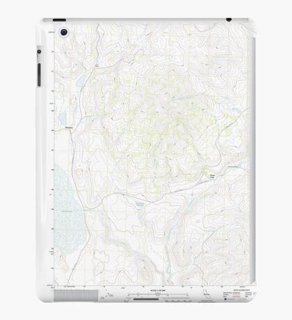 USGS TOPO Map California CA West of Snowstorm Mountain 20120305 TM geo iPad Case/Skin