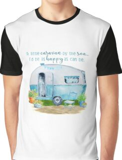 A little caravan by the sea Graphic T-Shirt