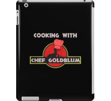 Cooking with Chef Goldblum iPad Case/Skin