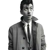 Alex Turner (is prettier than you) by lizzylizards