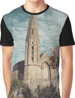 church in Westport Ireland photograph Graphic T-Shirt