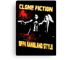 Clone Fiction Canvas Print