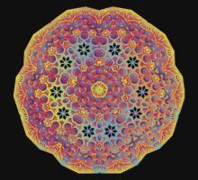 Psychedelic jungle kaleidoscope ornament 15 T-Shirt
