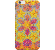 Psychedelic jungle kaleidoscope ornament 16 iPhone Case/Skin