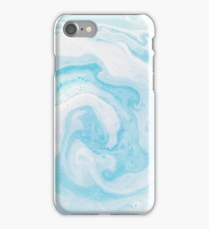 Ethereal (blue) iPhone Case/Skin