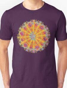 Psychedelic jungle kaleidoscope ornament 17 T-Shirt