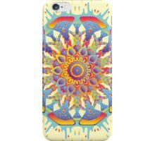 Psychedelic jungle kaleidoscope ornament 19 iPhone Case/Skin
