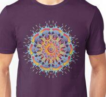 Psychedelic jungle kaleidoscope ornament 19 Unisex T-Shirt