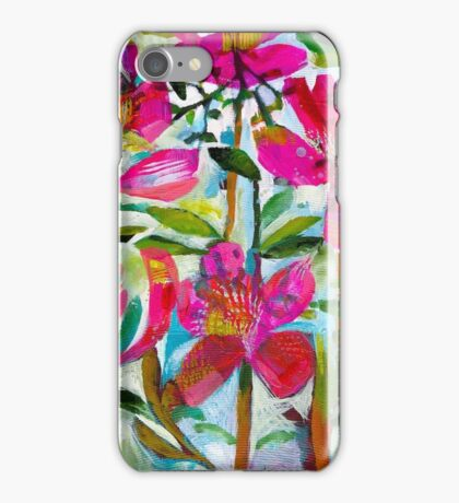 Summer roses iPhone Case/Skin