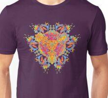 Psychedelic jungle kaleidoscope ornament 20 Unisex T-Shirt