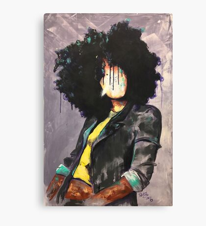 Naturally David Canvas Print