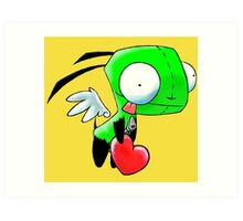 Gir Love Angel Art Print
