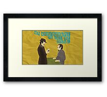 "Monty Python ""Dirty Hungarian Phrasebook"" Framed Print"