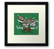 Mad as a March Hare Framed Print