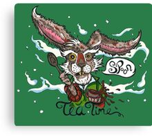 Mad as a March Hare Canvas Print