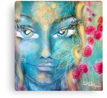 goddess of femininity Canvas Print