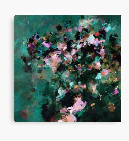Contemporary Abstract Art Canvas Print