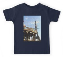 She wanted to die, but she also wanted to live in Paris. Kids Tee
