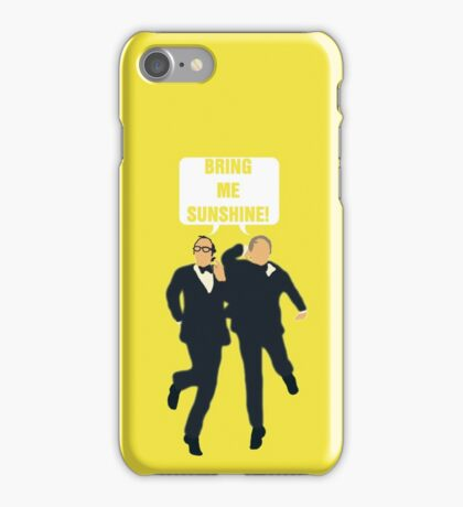"""Morecambe and Wise """"Bring Me Sunshine"""" iPhone Case/Skin"""