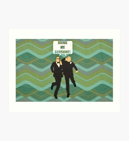 "Morecambe and Wise ""Bring Me Sunshine"" Art Print"