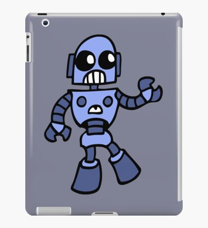 arcade robot gaming gamer funny geek  iPad Case/Skin