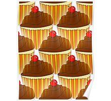 Cupcake Display Poster