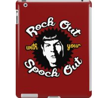 Rock out with your Spock out iPad Case/Skin