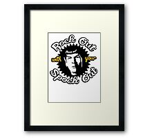 Rock out with your Spock out Framed Print