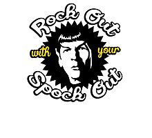 Rock out with your Spock out Photographic Print