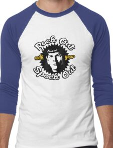 Rock out with your Spock out Men's Baseball ¾ T-Shirt