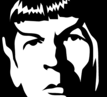 Rock out with your Spock out Sticker