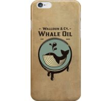 Wundall & Co Whale Oil iPhone Case/Skin