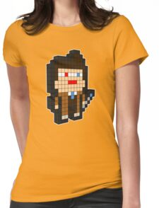 3D PIXEL - DOCTOR WHO (DAVID TENNENT) Womens Fitted T-Shirt