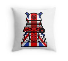 Dr Who - Jack Dalek Tee Throw Pillow